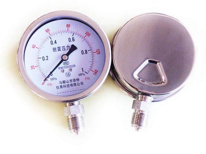 全不锈钢压力表3