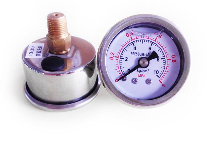 普通油压表