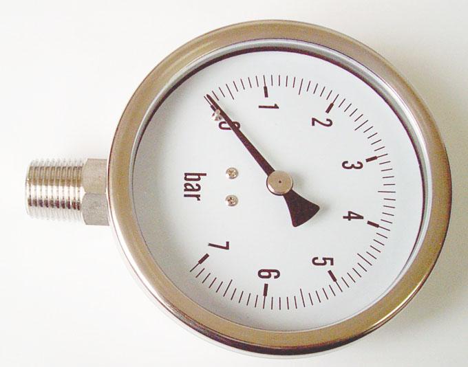 全不锈钢压力表6